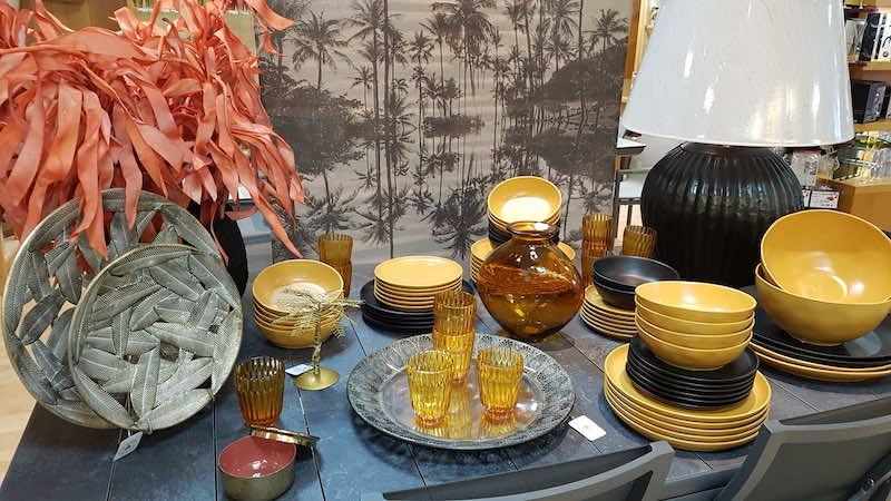 art de la table automne et hiver