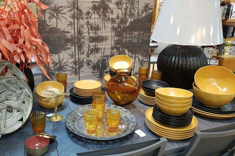 art de la table automne hiver